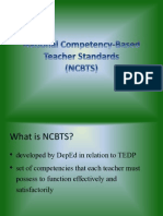 National Competency-Based Teacher Standards