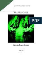 Trans-Andara ENTREATO de Vicente Franz Cecim