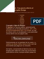 Concepto y Tipos de Banner Josepuello-gd - Una Puerta Abierta Al Mundo Del Graphic Design