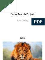 genre morph project for portfolio