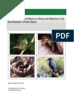 Cambio Climatico y Reptiles