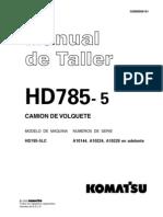 Manual de Teller Komatsu HD785-5