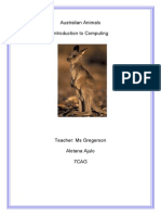 ajulo aletana  australian animals