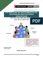 Matrices_instrumentos de Gestion Ugeltacna 2013