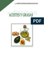INTRODUCCIÓN de Aceites y Grasas