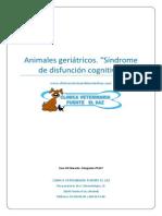 AnimalesGeriatricos y Disfuncion Cognitiva