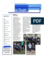 Newsletter 01-05-2014