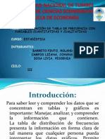 Diapositivas de Estadistica