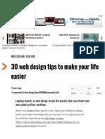 30 Web Design Tips to Make Your Life Easier _ Web Design _ Creative Bloq