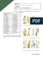 Lista 9º Ano P1 2º BIM.2013 - Verbos de Cambio, Estados de Ânimo, Vocabulario Doces, Propaganda Comida, Diminutivo e Aumentativo