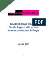 Studenti liceo Issel di Finale Ligure alle prese con Inquietudine e Fuga