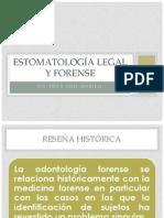 Clase (1) Estomatología Forense