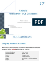 Android Chapter17 SQL Databases