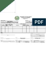 Case Format II Minor Operations