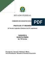 Pauta Cheia 2014 017 Extraordinaria CAS 2528