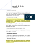Princípios Universais do Design