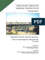 03 Fracture Critical Bridge Inspection June 2003