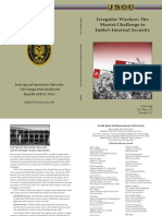 Irregular Warfare the Maoist Challenge to India s Internal Security Singh 2012 Uploaded by Richard J Campbell