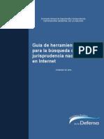 Guía Para La Búsqueda de Jurisprudencia Nacional en Internet