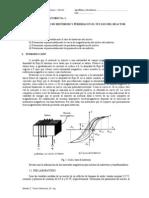 LABORATORIO 1 Lazo de Histeresis y Perdidas Reactor