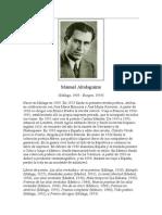 Altolaguirre, Manuel - Biografía