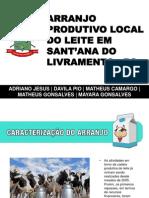 Arranjo Produtivo Local do Leite em Sant'ana do Livramento - RS