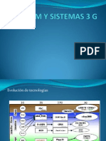 Red Gsm y Sistemas 3 g