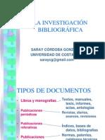 La Investigación Bibliografica