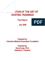 Art of Hosting Research Report CMA