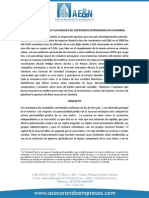 Generalidades Sucursales de Sociedades Extranjeras