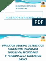 Acuerdo Secretarial 648 Control Escolar Sec