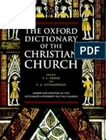 The Oxford Dictionary of the Christian Church (Gnv64)