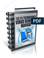 The PC Technicians Virus Removal Manual - Sample