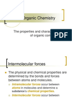 SCH 4U- Bonds Properties of Organic Compounds Ppt