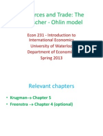 Ch 5 -The Heckscher-Ohlin Model (1)