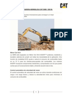 Excavadora Hidráulica Cat 320d