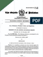 ordinance XIV OF 2009
