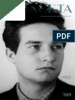 Gaceta FCE Octavio Paz