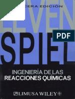 Ingenieria de Las Reacciones Quimicas - Levenspiel - 2004