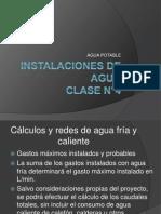 Agua potable Clase n°4