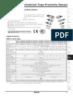 Autonics Pr Series Proximity Sensors Datasheet