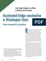 Accelerated Brideg Construction in Washington State