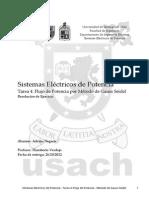 144817699 Ejercicio Resuelto Sistemas Electricos de Potencia Flujo de Potencia Por Metodo de Gauss Seidel