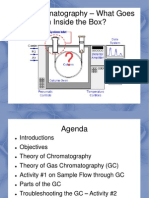 gas chromatography presentation   Gas Chromatography