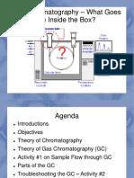 gas chromatography presentation