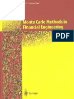 Monte Carlo Methods in Financial Engineering Paul Glasserman 2004