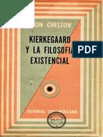 Kierkegaard y La Filosofía Existencial
