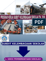 Program Subdit Kelembagaan 2008