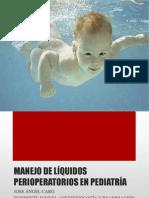 Manejo de Liquidos Intraoperatorios en Neonatos