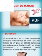Diapositiva de Cancer de Mama
